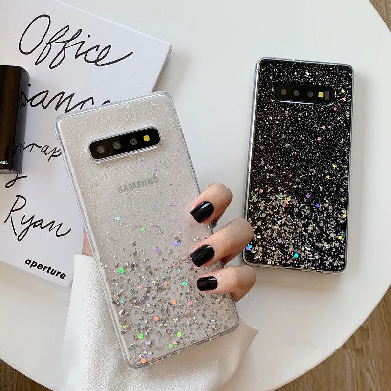 Samsung Galaxy S10 S8 S9 Plus Note 8 Note 9 Soft Luxury Case Cover