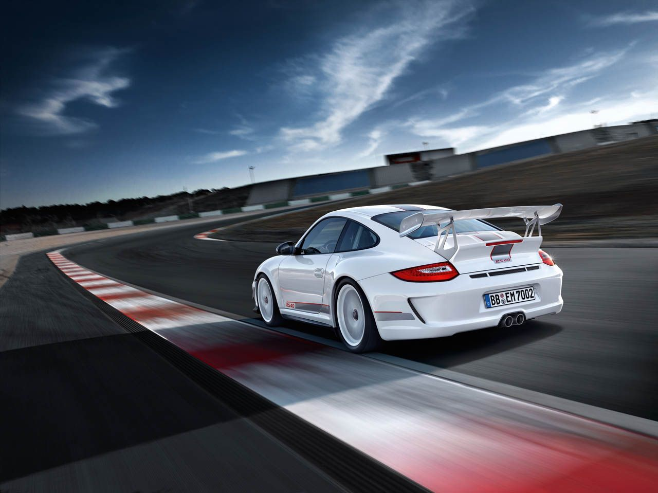Porsche 911 gt3 rs 4 0 lateral trasera