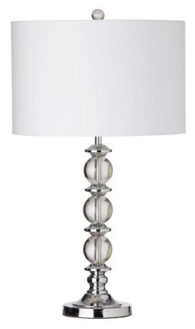 3 CRYSTAL BALL STACKED TABLE LAMP :: SHADED TABLE LAMPS :: Ceiling lights Toronto, Bath and vanity lighting, Chandelier lighting, Outdoor lighting and kitchen lights :: Union