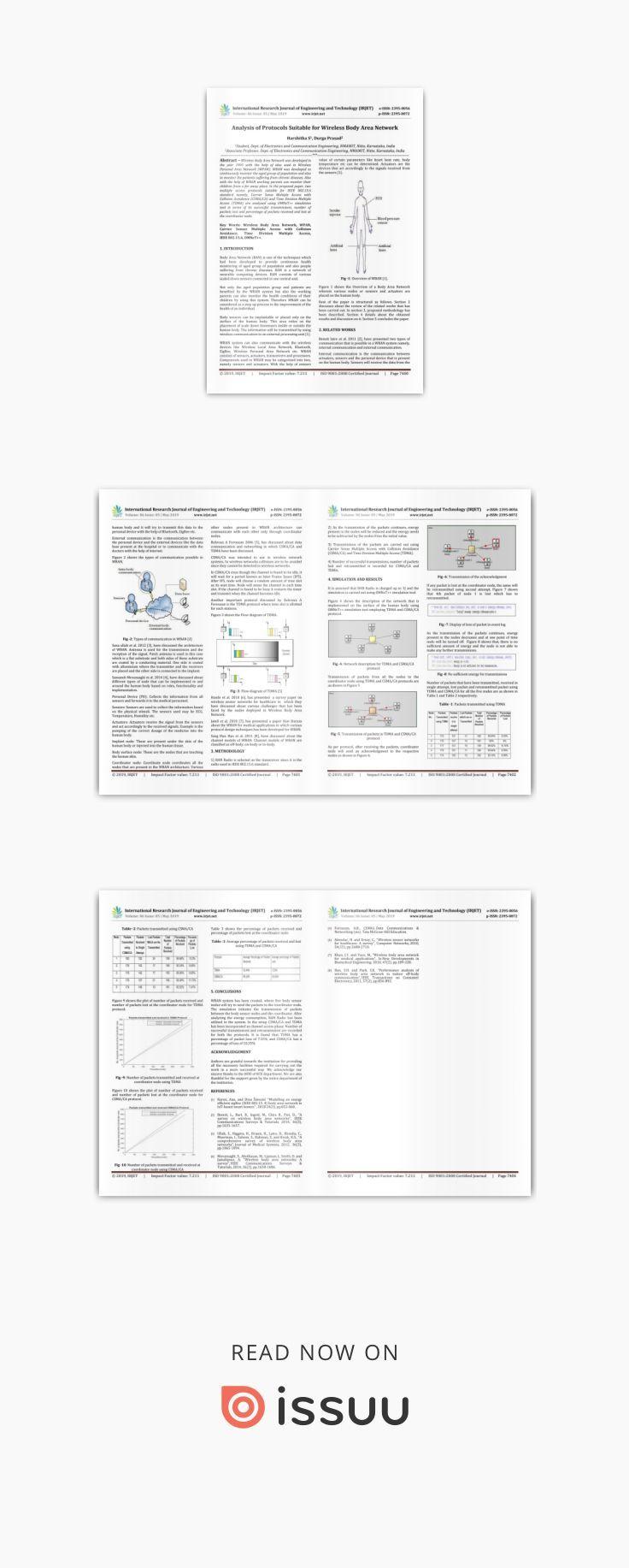 Irjet analysis of protocols suitable for wireless body