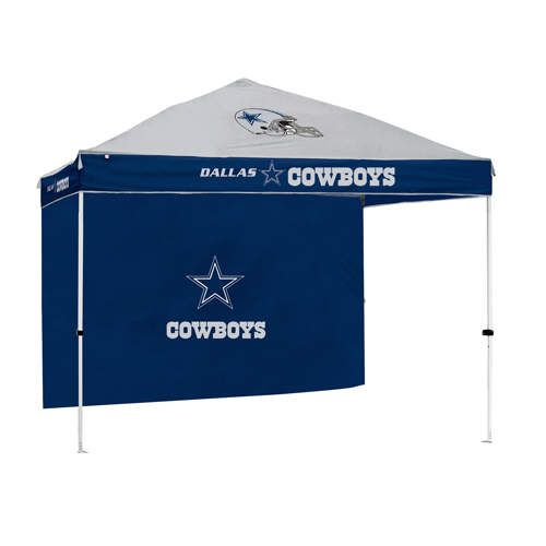 Dallas Cowboys NFL Gazebo w/ Side Wall 10u0027x10u0027 Canopy Tailgate Tent #  sc 1 st  Pinterest : tailgating tent with sides - memphite.com