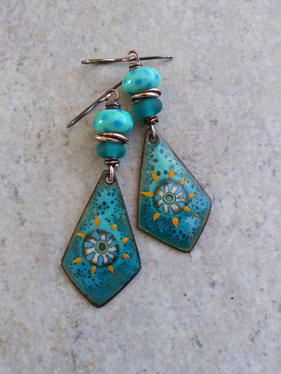 The Light Within ... Artisan-Made Enameled Copper Charms, Artisan ...