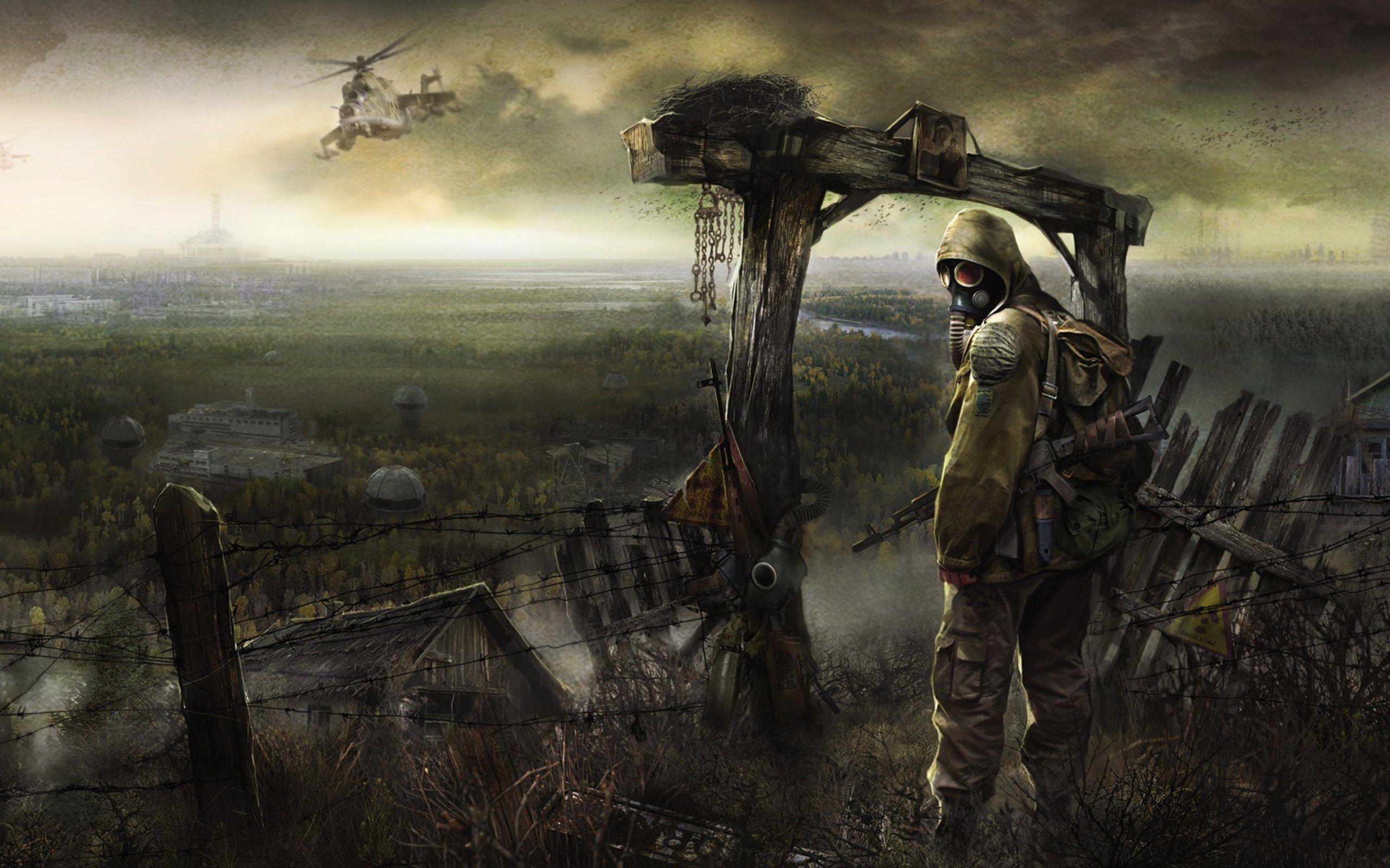 2560x1600 Wallpapers Free Stalker Apocalypse Art Chernobyl Post Apocalyptic