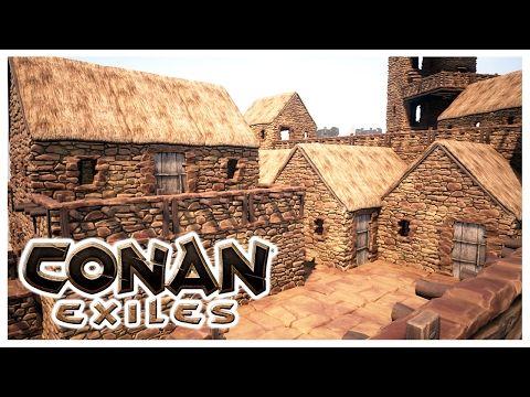 Awesome Conan Exiles Building The Village Conan Exiles Conan Conan The Barbarian
