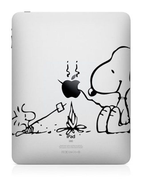 Snoopy iPad Decal iPad Stickers iPad Decals Apple by HappyDecal ...