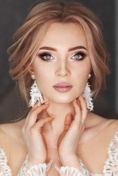 Soft Wedding Makeup Inspiring Ideas ︎ Wedding planning ideas & inspiration.... Check mor...