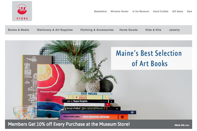 Photography for Portland Museum of Art store