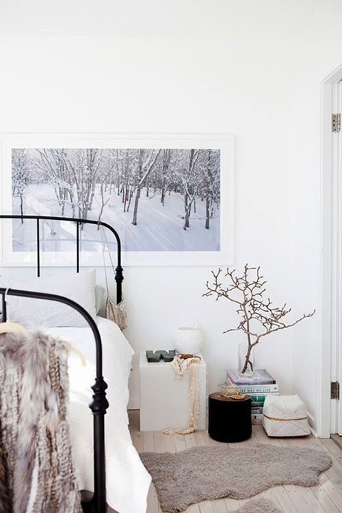 . Season themed bedrooms  winter   What would others look like