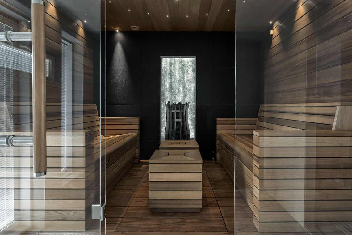 Schon Moderni Sauna Kaikilla Herkuilla
