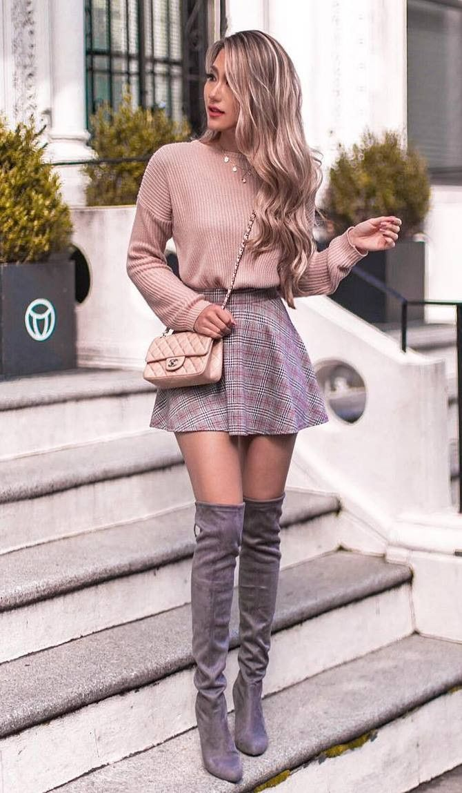 30 Outfit Ideas For A Chic Winter Look #cuteoutfits