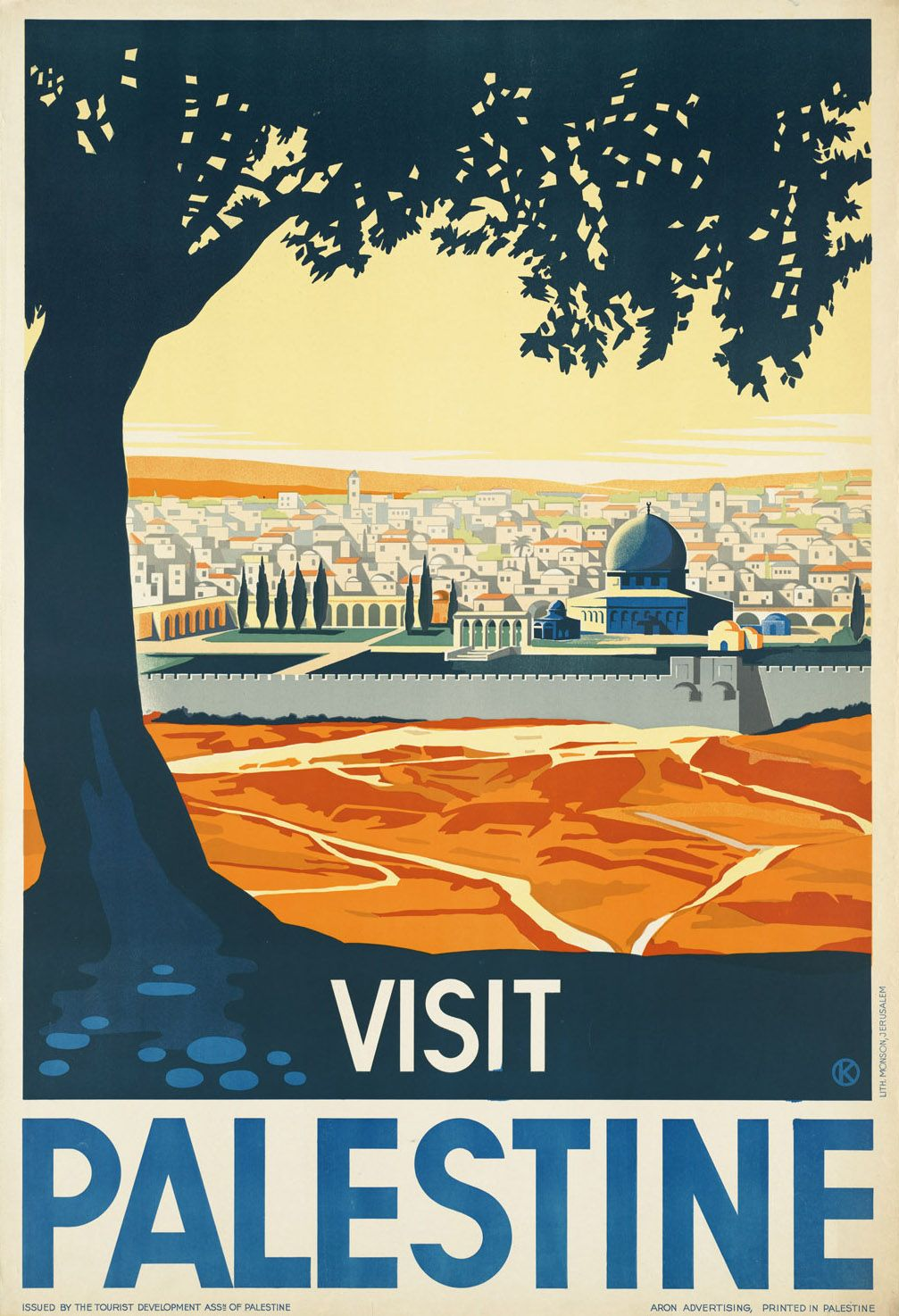 Visit Palestine | Posters | Pinterest | Travel posters, Palestine ...