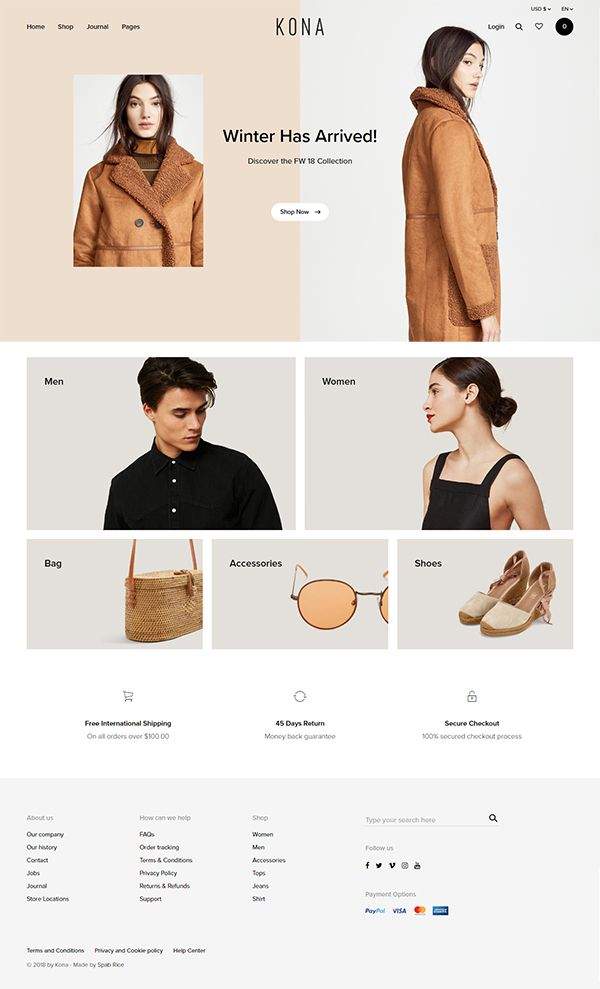 Ecommerce Website Templates | Template Monster