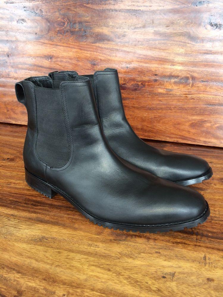 Black chelsea boots, Ankle boots men