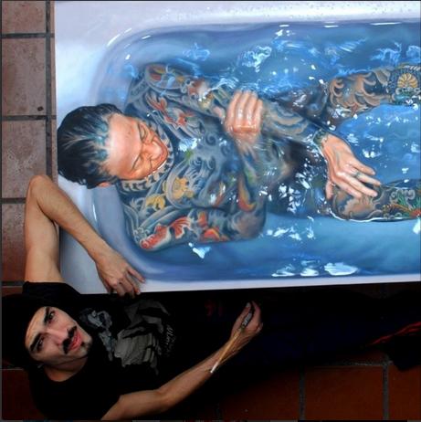 Artist Gustavo Silva Nu�ez Paints Realistic Paintings