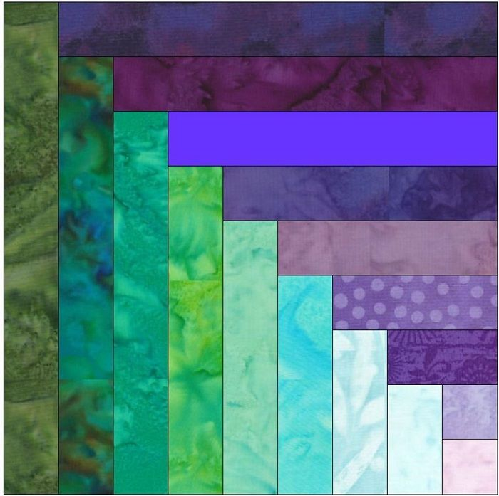 All About the Log Cabin Quilt Pattern | Log cabins, Cabin and ... : quilting patterns for log cabin blocks - Adamdwight.com