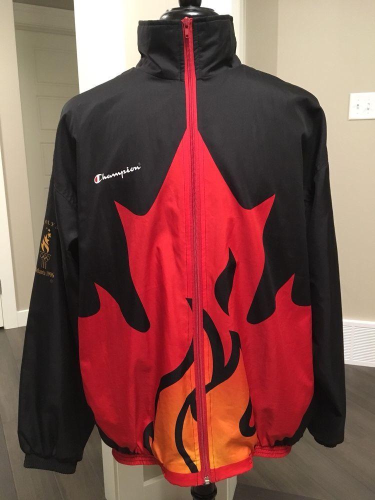 6eb5e0adbf60 Vintage Team Canada Champion Jacket - Atlanta 1996 Olympics Size LARGE