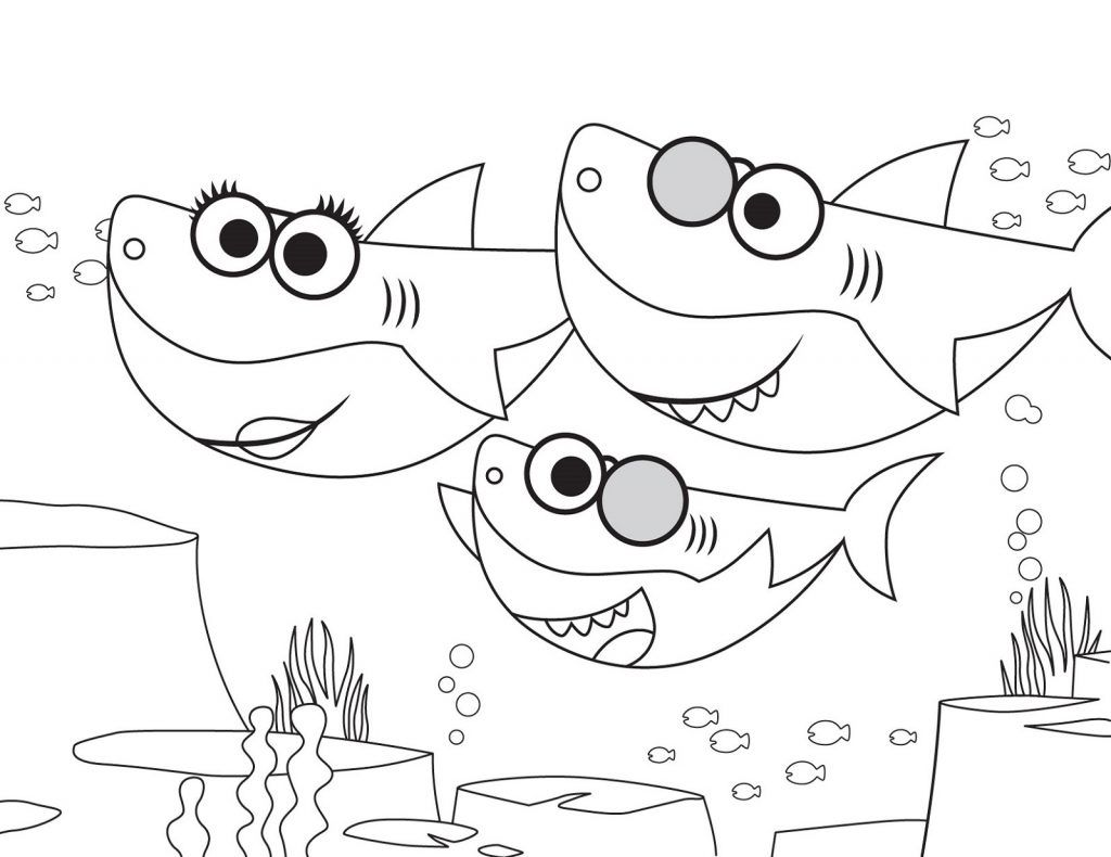 The Best Printable Shark Coloring Pages | Shark coloring ...