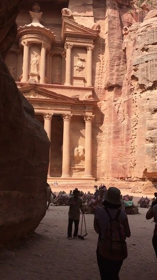 Amazing view of Petra