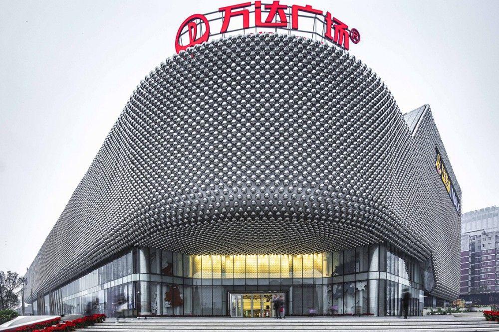 Pearls - Mermaid - Lightshow - Architecture - Waouw - Hanjie Wanda Square / UNStudio