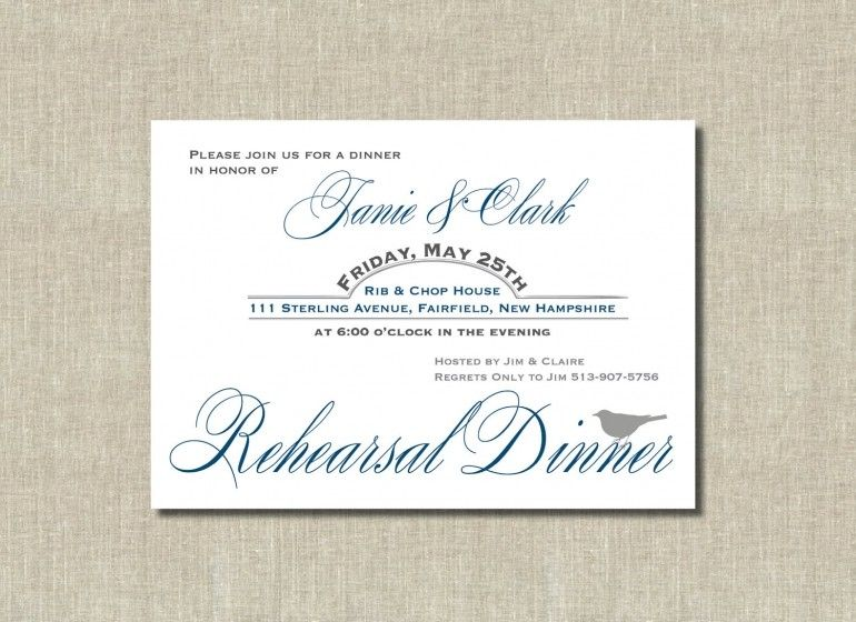 Free Rehearsal Dinner Invitation Templates Printable rehearsal - free dinner invitation templates