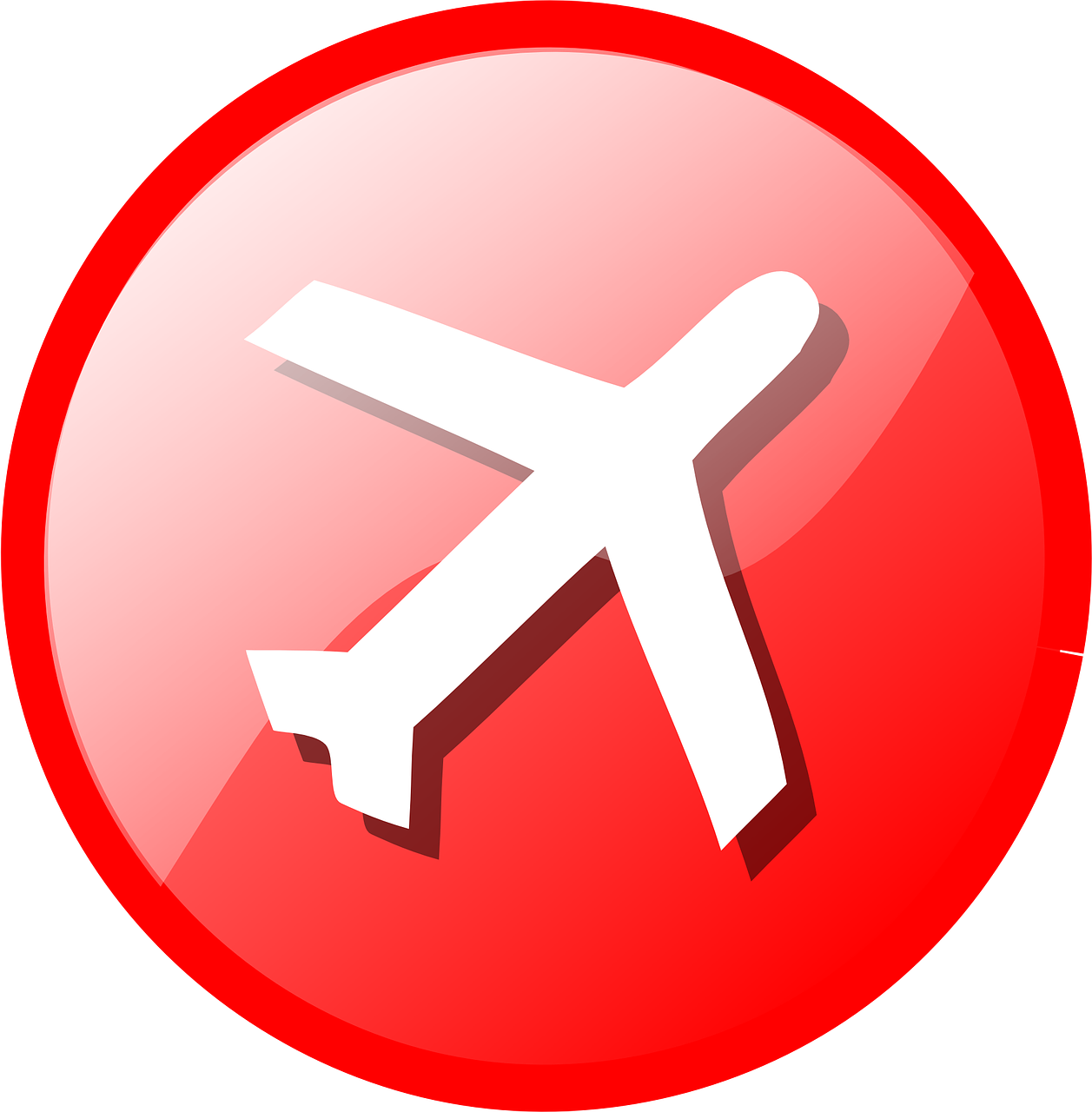Button Glossy Journey Red Transparent Image Best Travel Insurance Travel Insurance Travel Icon