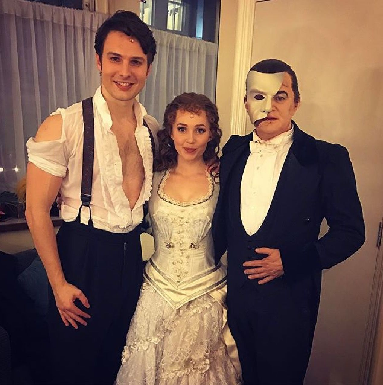 Phantom Of The Opera London Cast Standby Phantom Scott Davies