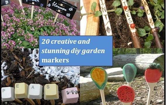 Ordinaire 20 Creative And Stunning DIY Garden Markers And Labels | The  Self Sufficient Living