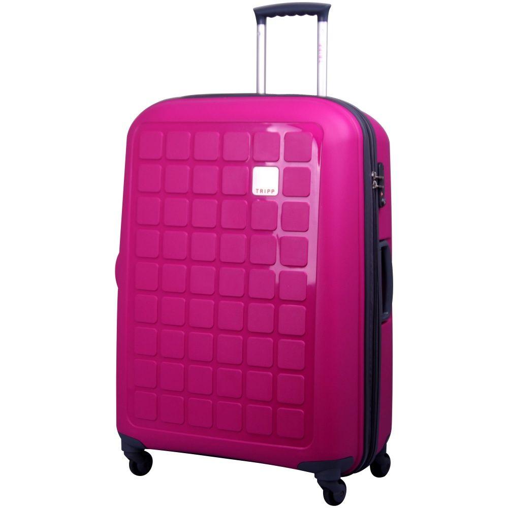 Tripp Holiday 4 Large 4-Wheel Suitcase Magenta www.tripp.co.uk ...