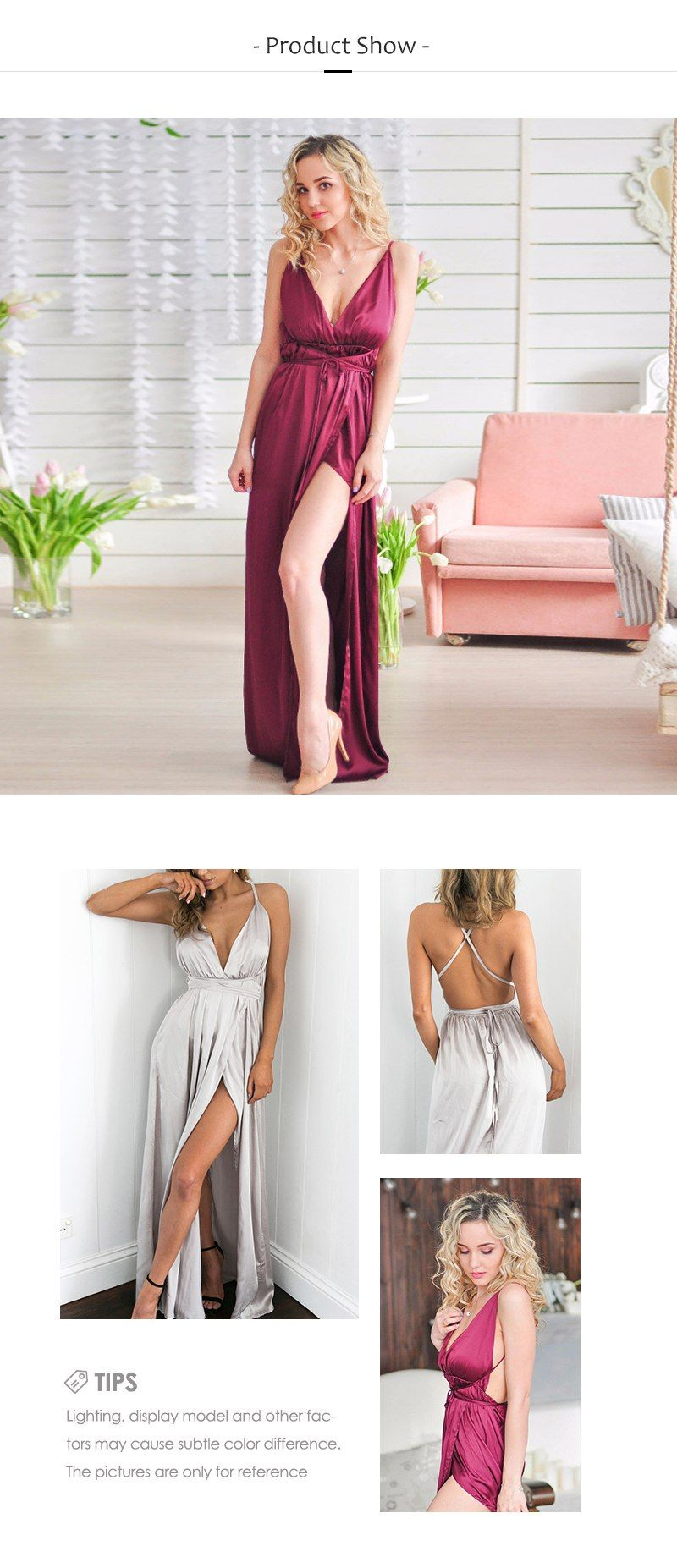 Berrygo elegant backless satin long dress women evening summer dress