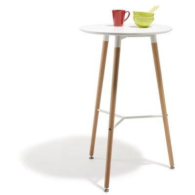 Table De Bar Table Haute Et Tabouret Pour Une Touche Bistro Table Bar Mange Debout Chaise Cuisine