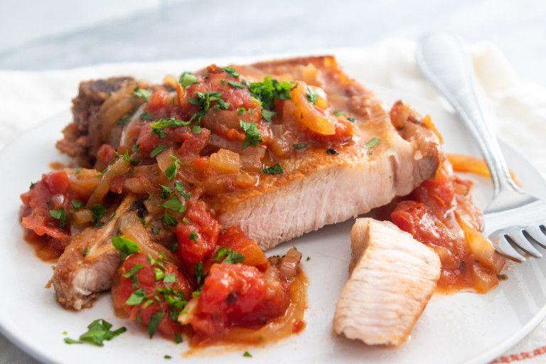 Photo of Pizzaiola Pork Chops – Giadzy