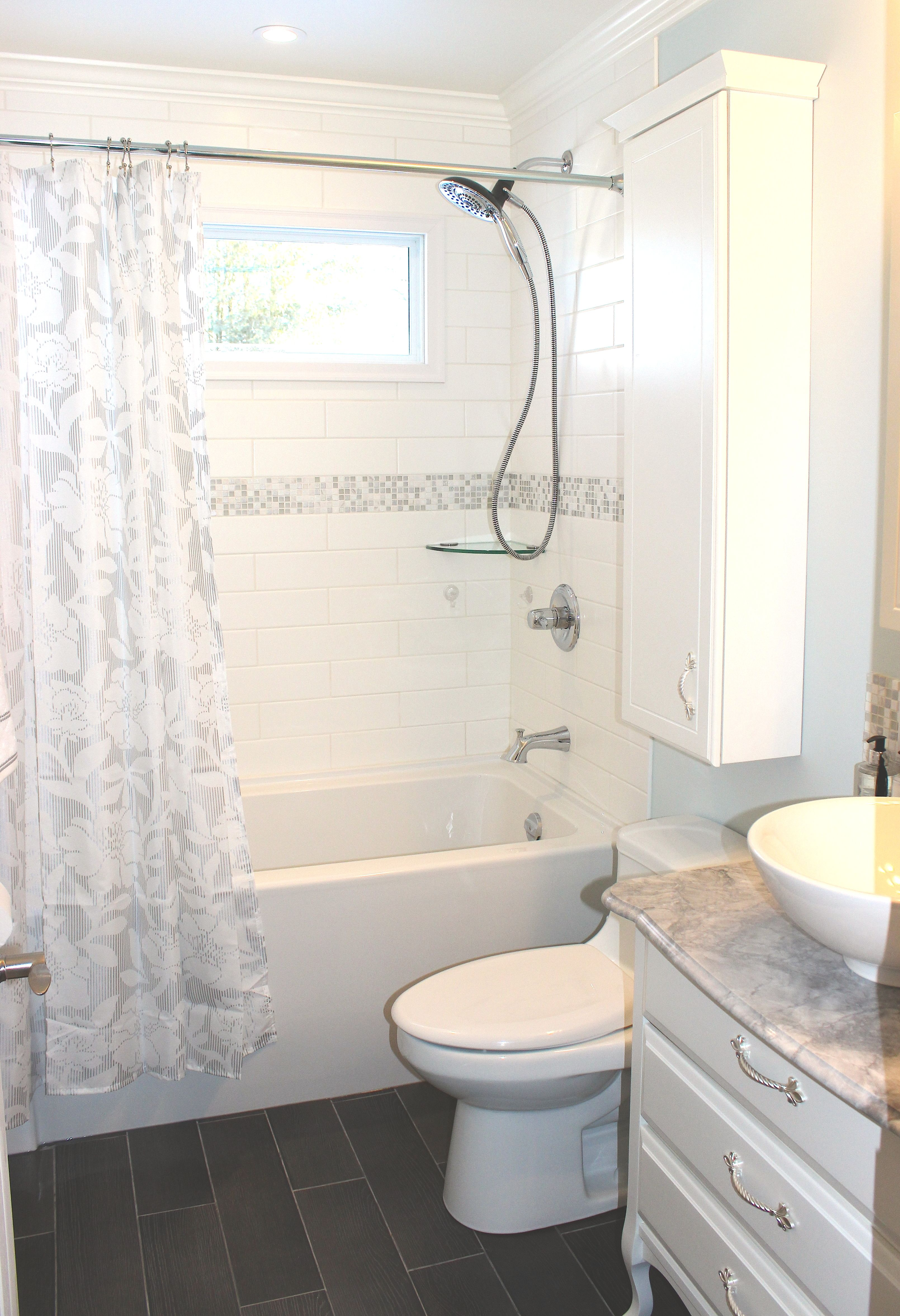 Small 5X8 Bathroom Complete With Refurbished Antique Dresser Unique 5 X 8 Bathroom Design Design Decoration