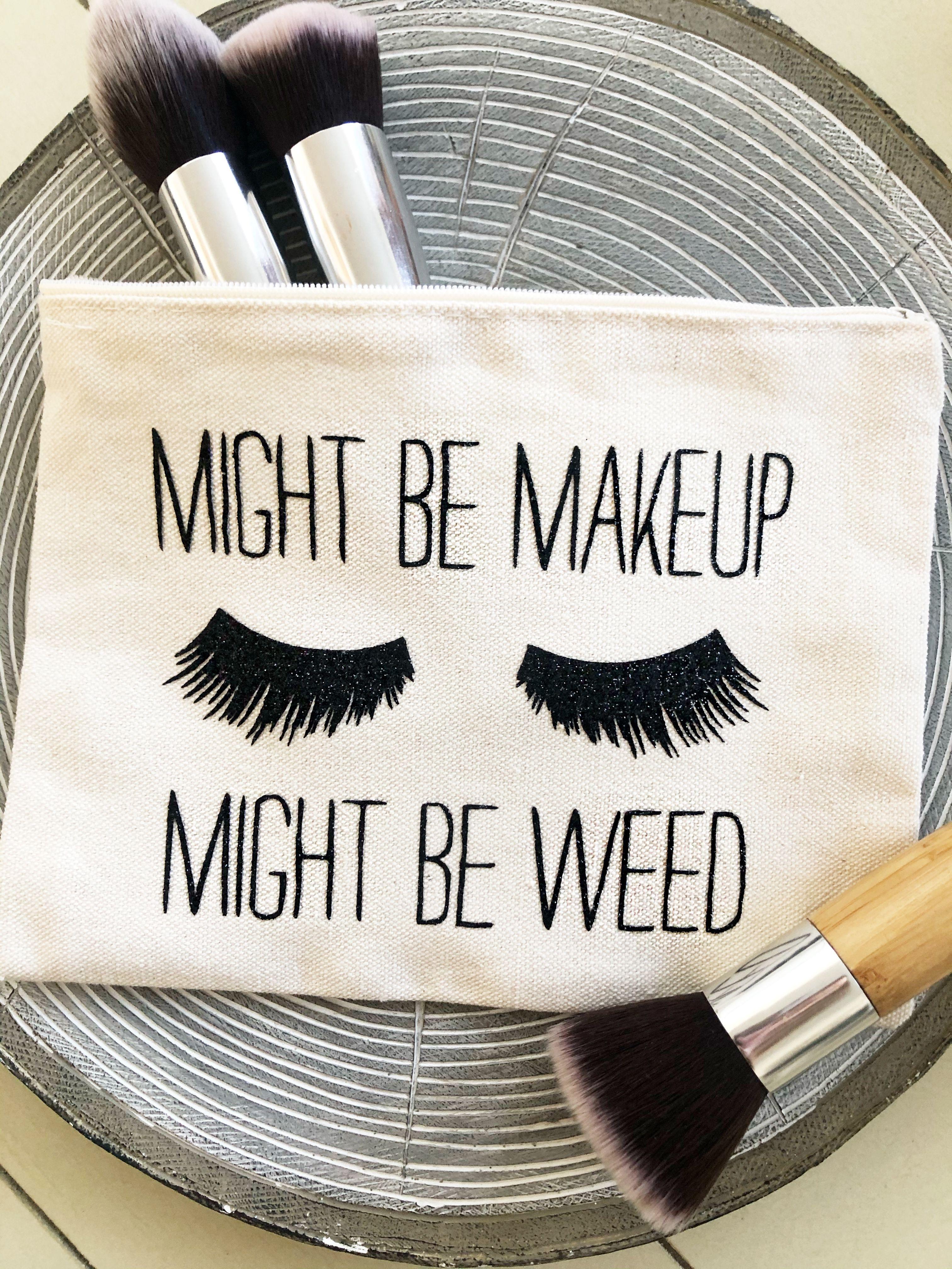 Makeup Bag Personalized Makeup Bag Make Up Bag Small