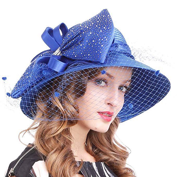 b4f7475f04c ... outlet store 8db97 8b973 29.99Kentucky Derby Dress Church Cloche Hat  Sweet Cute Floral Bucket Hat ...