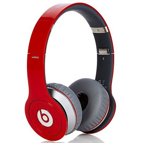 Beats Wireless Headphones With Case And 25 Songs OVER THE EAR DR DRE