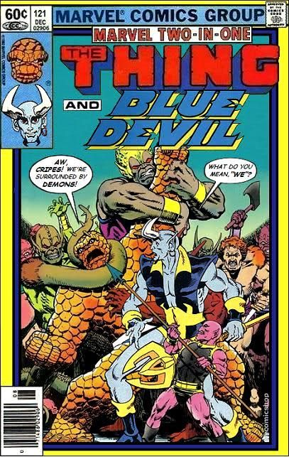 Thing Blue Devil __XXXV__