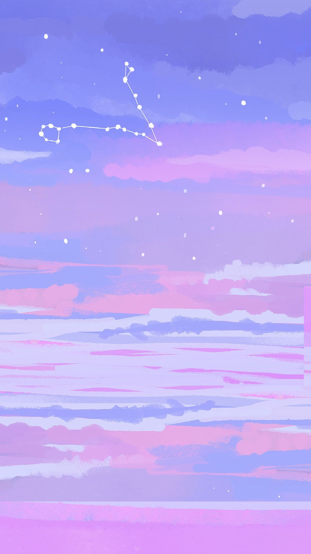 Phone Wallpaper Background Star Starry Pictures Starry Stars Beauty In 2020 Pink Wallpaper Anime Cute Pastel Wallpaper Galaxy Phone Wallpaper