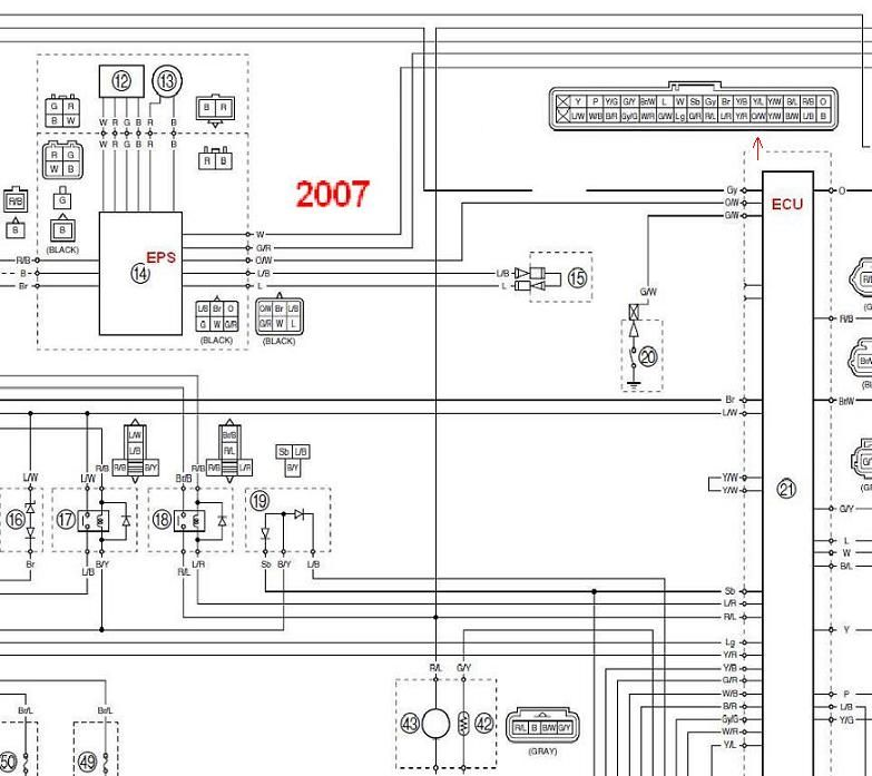 Yamaha Rhino 700 Wiring Harness Diagram