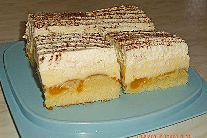 Fanta Schmand Kuchen Mit Pudding Und Mandarinchen Fanta