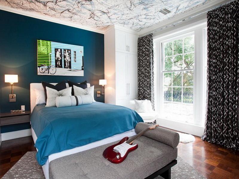 Teenage Bedroom Ideas For Boys With Unique Ceiling Ideas Boy Room Paint Boys Bedroom Paint Bedroom Interior