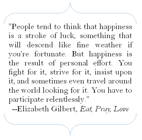 "Eat Pray Love Quotes Elizabeth Gilbert Author Of ""eat Pray Love"" Quote People Tend"