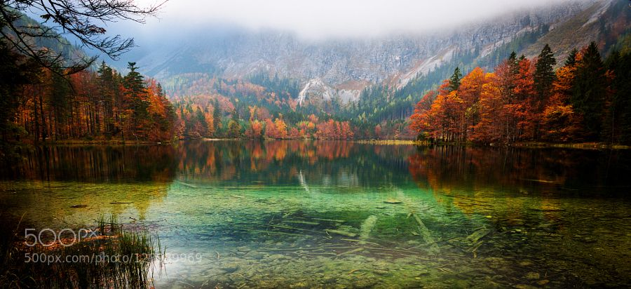 Hinterer Langbathsee by sh-fotografie #nature