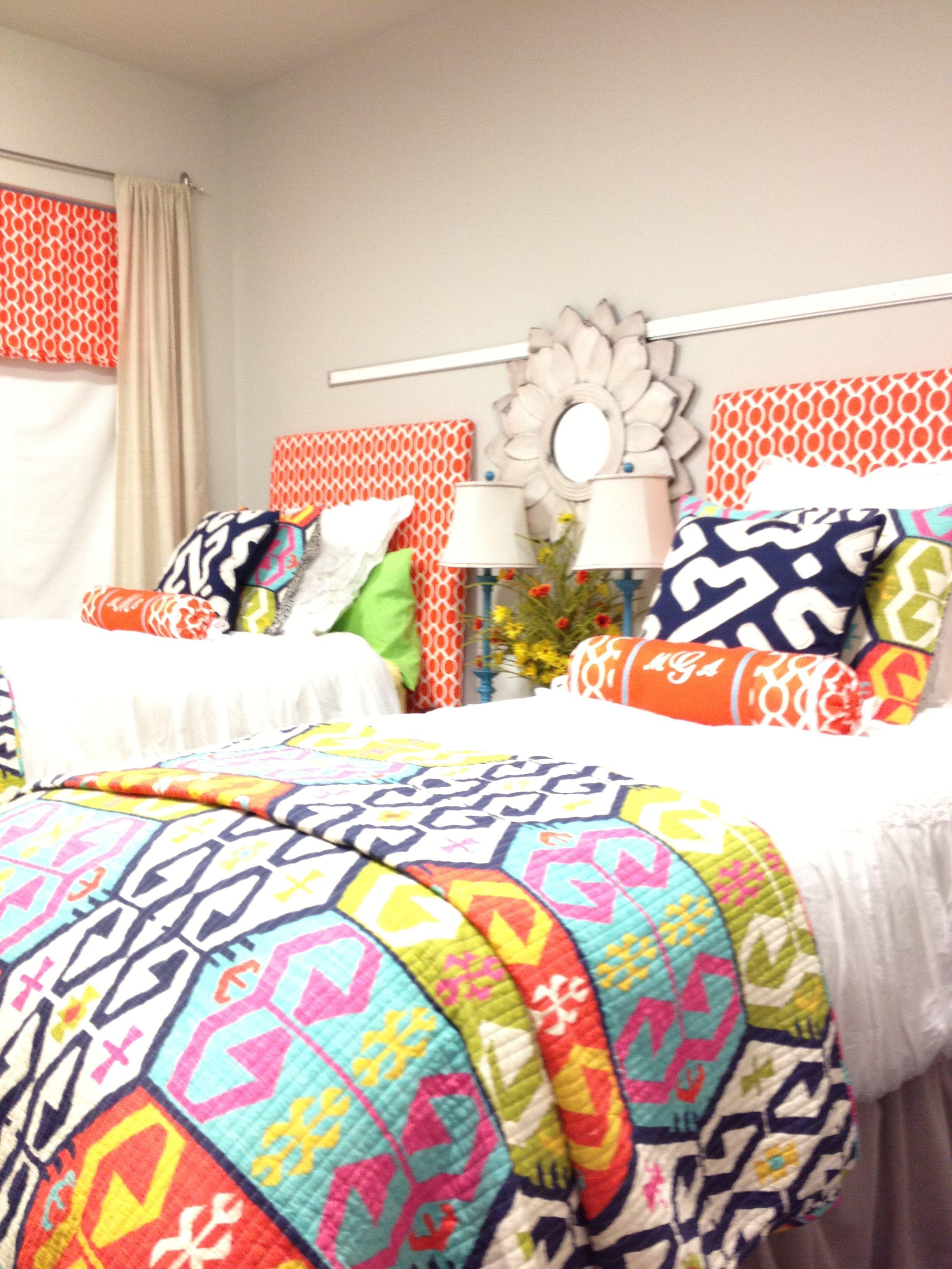College dorm room decor and bedding. Mississippi state university  @Mclean Skalak