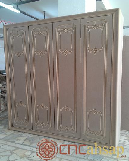 Ahşap Oyma Gardolap Model | Wood Carving Wardrobe Model | Yeniler ...
