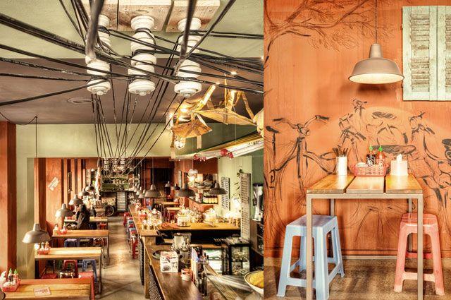 Vietnamesisches restaurant district m t saigon mitten in for Asia einrichtung
