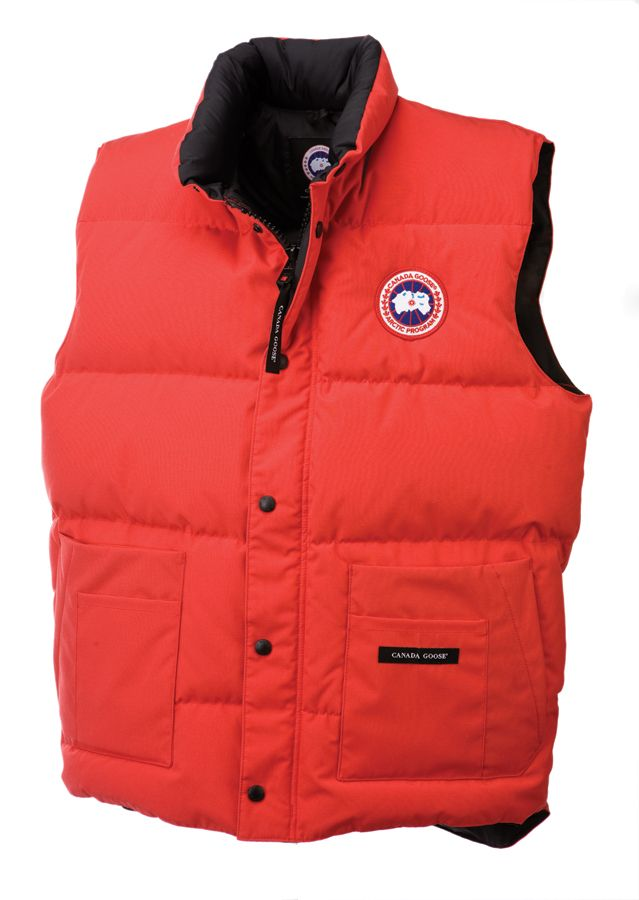 Canada Goose 4125M Freestyle Vest Red