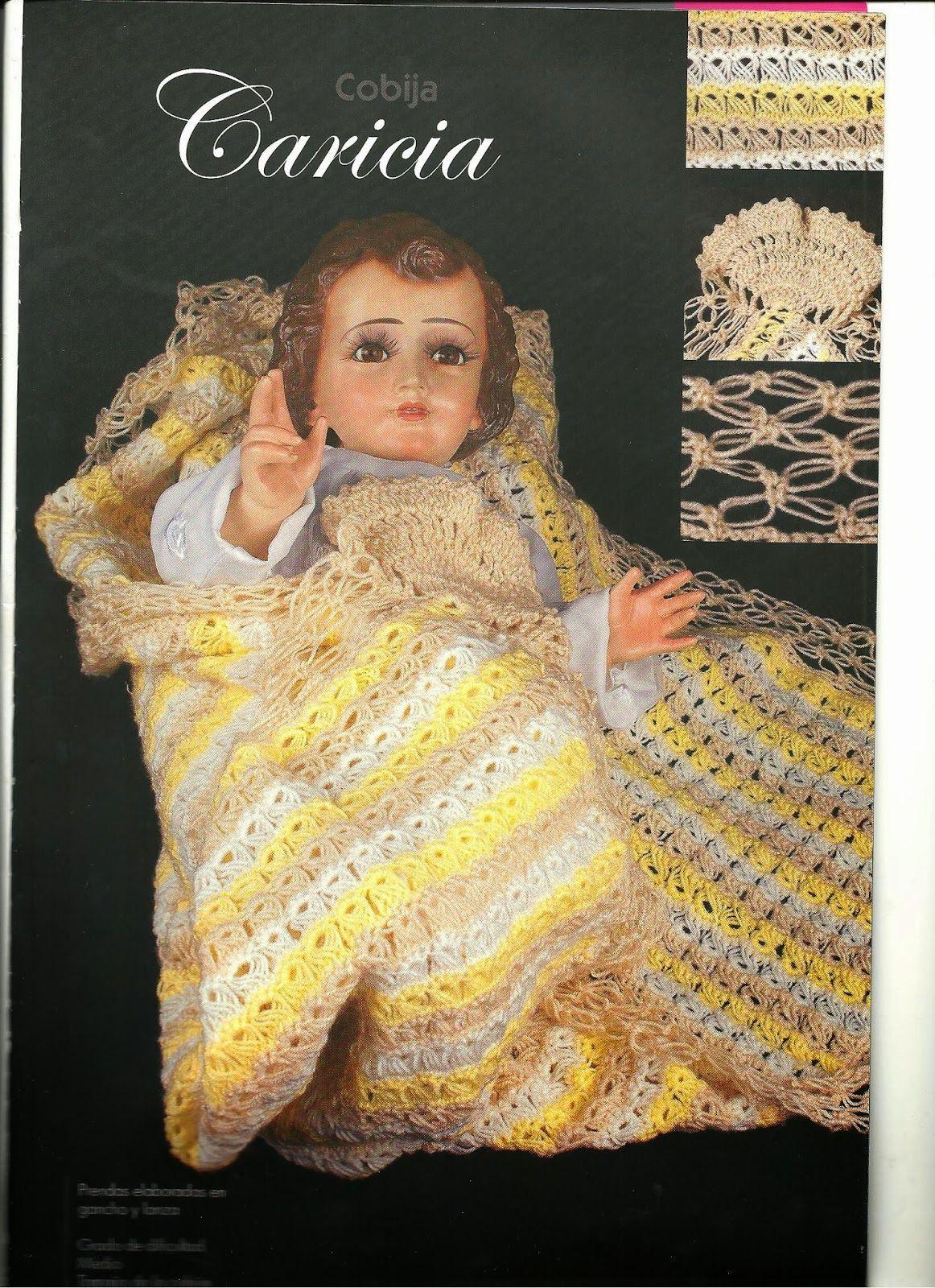 teje vestido de niño dios a gancho esquemas y patrones | baby ...