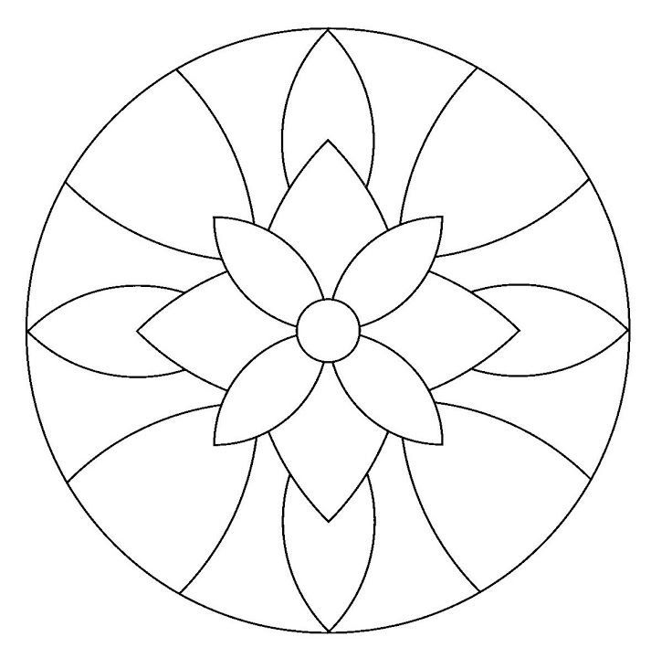 mandala 1 | Embroidery Patterns | Pinterest | Mandalas, Mosaicos y ...