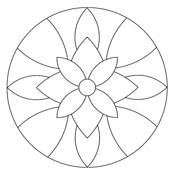 mandala 1 | Mosaicos | Pinterest | Mandalas, Mosaicos y Bordado