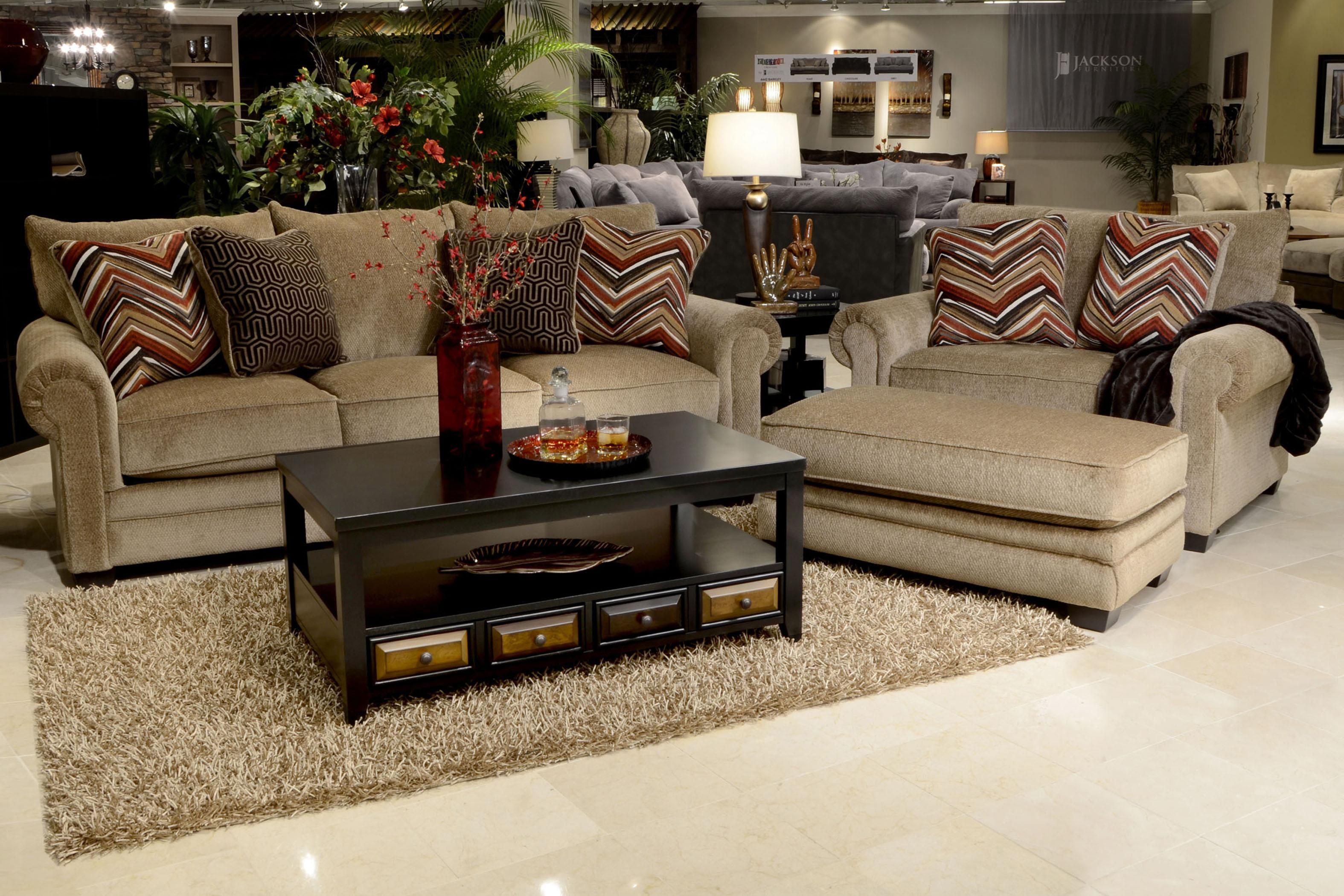 Stationary Living Room Group By Jackson Furniture Wolf And